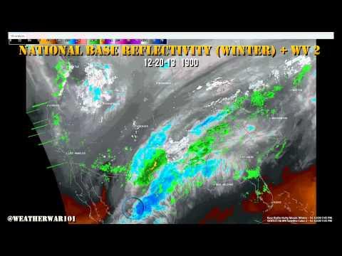 Geoengineering: Christmas Storm Gemini 12-21-13