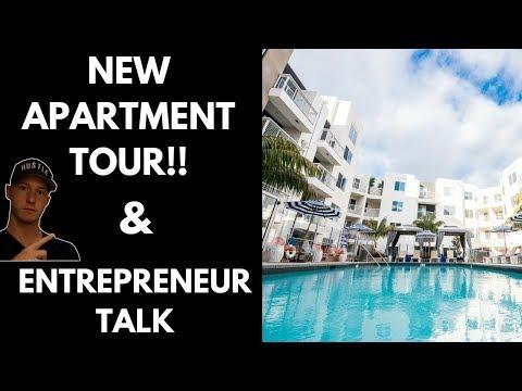 **NEW APARTMENT TOUR** & ENTREPRENEUR TALK
