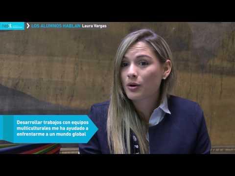 Los Alumnos Hablan -  Laura Vargas, Colombia