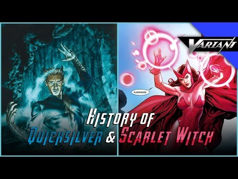 History Of Quicksilver & Scarlet Witch!