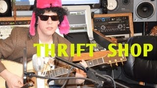 Thrift Shop - Macklemore cover by Jackson Odell ft. Michael 'Fish' Herring