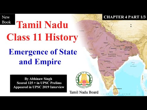 Tamil Nadu Class 11 History Chapter 4 Emergence of State and Empire 1/3