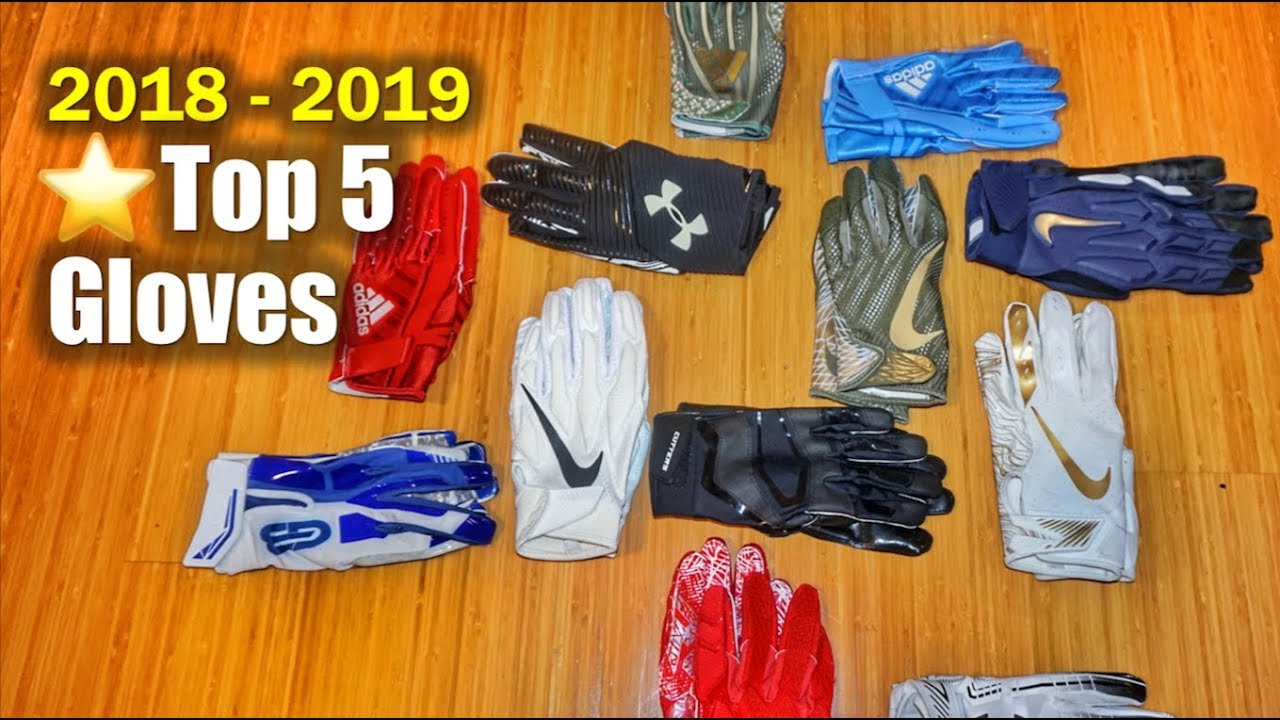 Best Wide Receiver Gloves 2020 🏈 Top 5 Football GLOVES 2018 2019   YouTube
