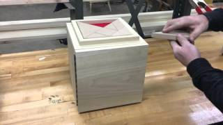 Evilusions Tangram Magnetic Lock Box for escape room