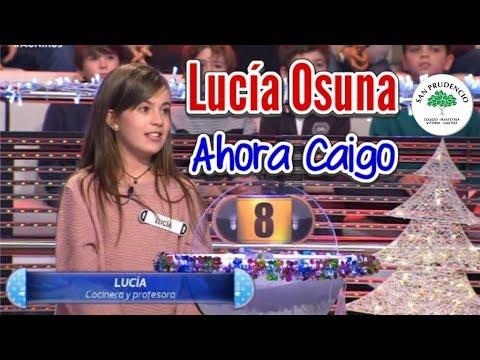 LUCÍA OSUNA en Ahora Caigo Infantil 2017