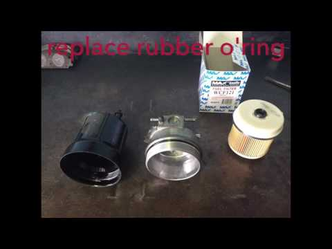 Isuzu NPR Fuel Filter Replacement