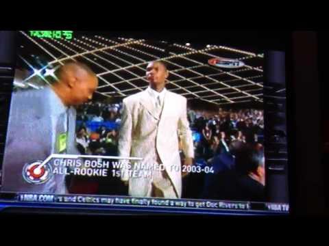 2003 NBA draft - Chris Bosh - 4th pick