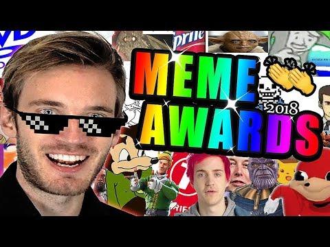 THE MEME AWARDS 2018