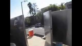 Mulholand Security Center, Modern Gates Los Angeles Stainless Steel Gate Testimony