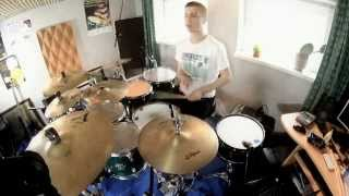 Nickelback - Burn It To The Ground - Drum Cover - Antoni Cepel