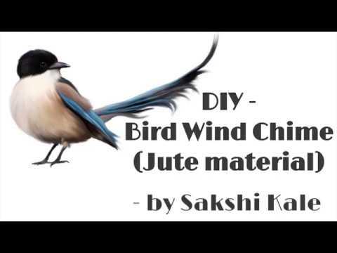 DIY - Bird Wind Chime Tutorial   Web of Dreams
