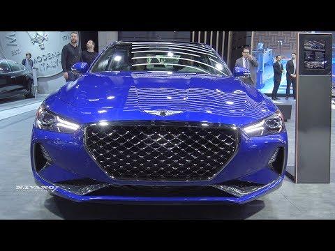 2019 Genesis G70 Exterior And Interior Walkaround 2018 Montreal Auto Show