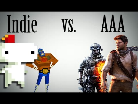Indie Games vs. AAA Games - The Truth