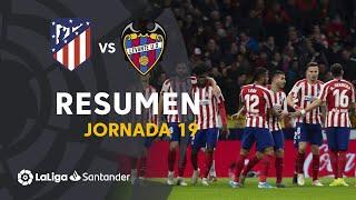 Resumen de Atlético de Madrid vs Levante UD (2-1)