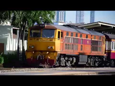 รถไฟไทย : State Railway of Thailand location (Bangkok Station)