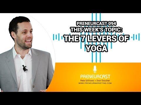 PreneurCast094: If I Was A... Yoga Teacher