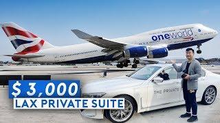 LAX Private Suite   BA Super B747 Business Class