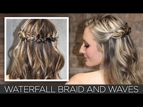 Endless Waterfall Braid and Waves