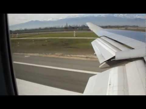 Vuelo Qantas Santiago Chile - Sydney Australia Boeing 747