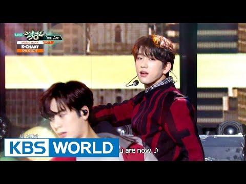 [Music Bank K-Chart] 2nd Week of October - UP10TION , GOT7 (2017.10.13)