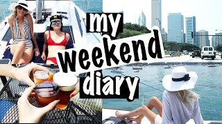My Weekend Diary | Carly Cristman