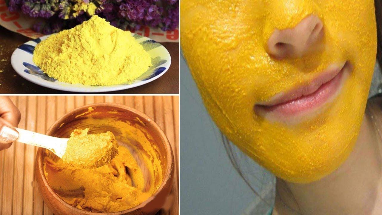 Chia sẻ các mẹ cách đắp mặt nạ nghệ làm trắng da không lo bị vàng da