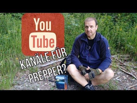 Youtubekanäle für Prepper? Was schaut Prepper Fox?