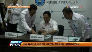 BNN Sita 11 Kilogram Sabu Jaringan Malaysia-Kalbar