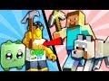 Детский летсплей Роблокс превратился в Майнкрафтера добываем уникальные блоки мульт герой ROBLOX