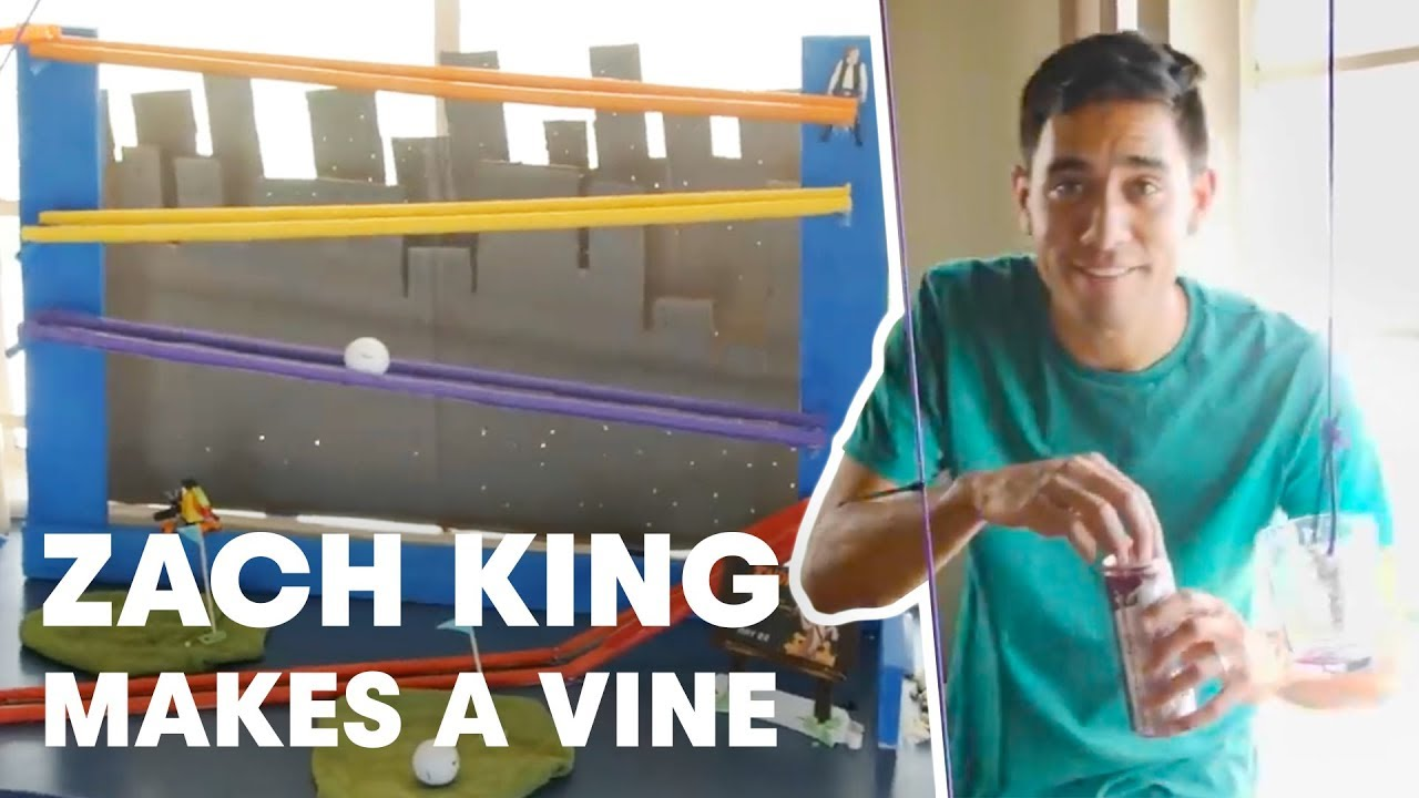 Red Bull Propelled Vine Machine - How Zach King Makes a Vine