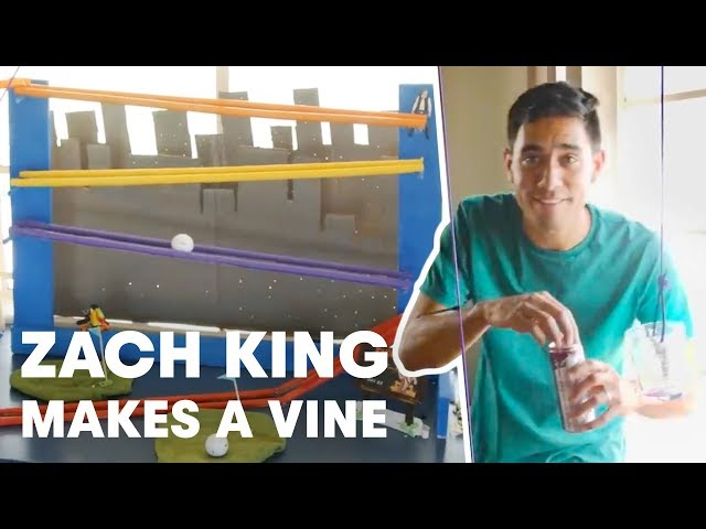 Red Bull Propelled Vine Machine – How Zach King Makes a Vine