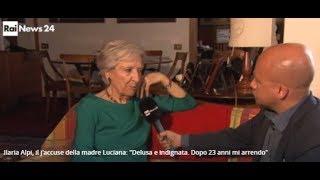 """Luciana Alpi: """"La verità sulla morte di Ilaria non la vogliono"""