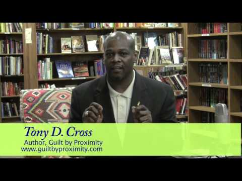 A Special Message From The Chat Room's Guest, Author Tony D. Cross