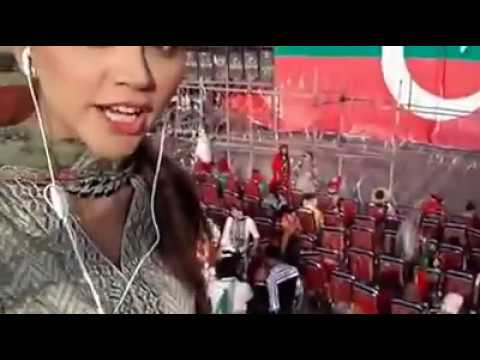 Irza khan cover P.T.I Lahore Jalsa