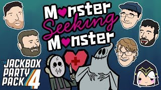 Let's Play Monster Seeking Monster | The Jackbox Party Pack 4 | 2 Left Thumbs | JBPP4 Gameplay