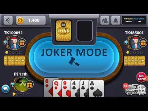 Playing Tonk Card Game