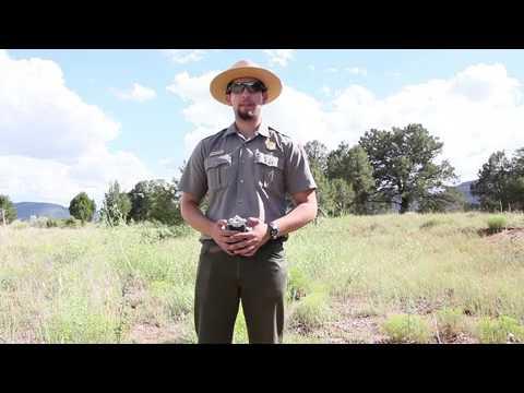 620. Ruins Tour Santa Fe Trail Ruts-- Ranger Talks