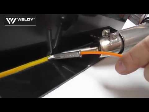 Máy hàn nhựa cầm tay WELDY energy 1600 for welding PE, PP and PVC