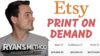 برنامج Etsy Print on Demand التعليمي (2021+)