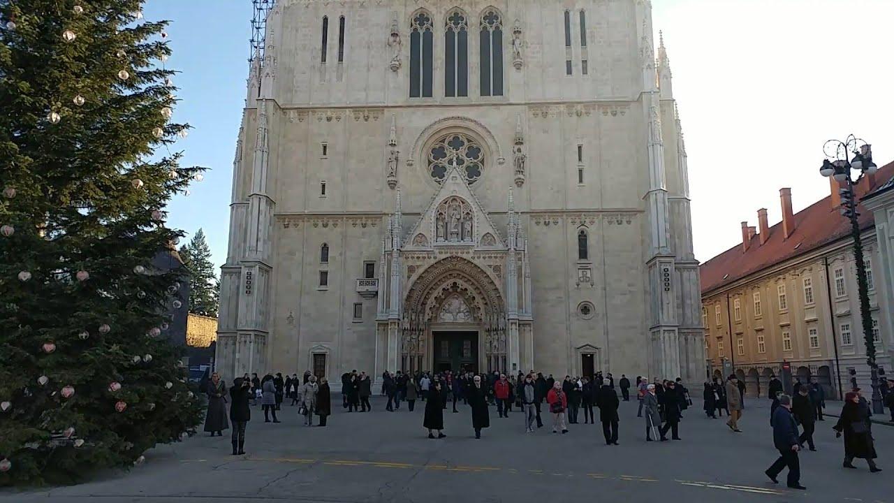 Christmas Bells Bozicna Zvona Weihnachtsglocken Zagreb Cathedral Croatia Youtube