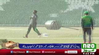 Pak Vs West Indies Series 2016 | Teams Are Ready For Fight | Neo News