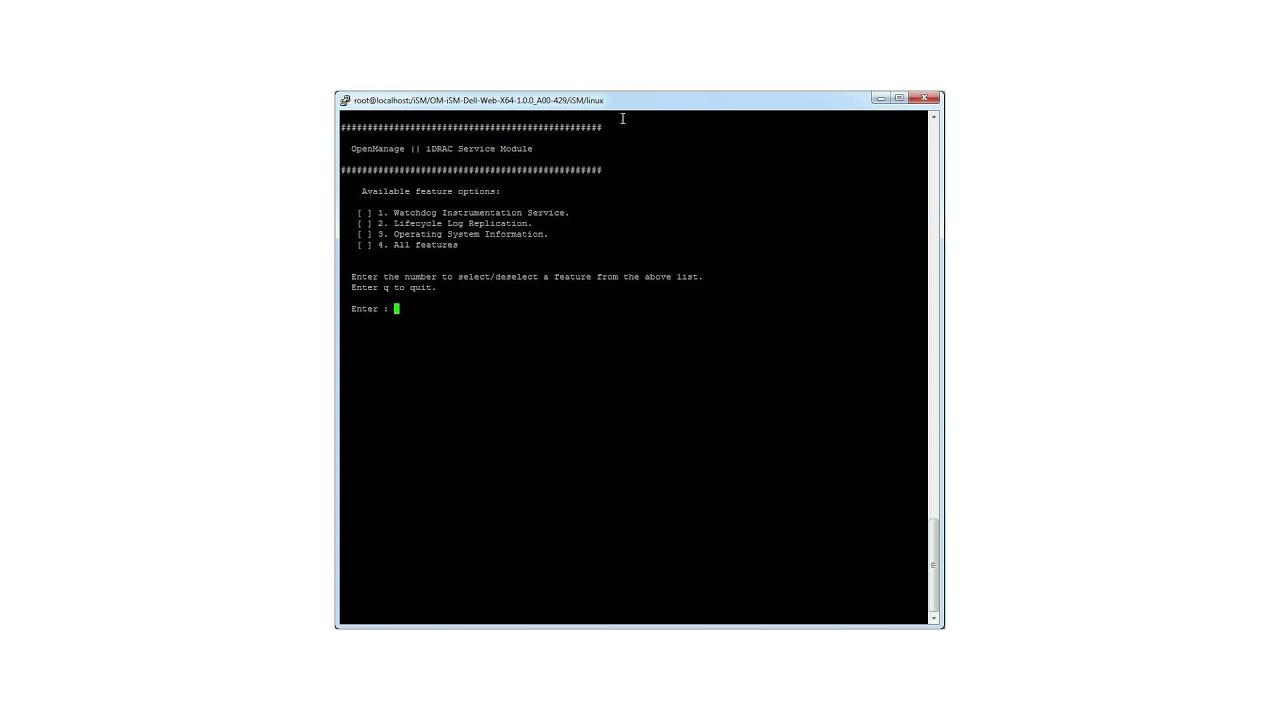 iDRAC Service Module Installation on Linux