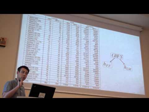 ICAPS 2013: Alexander Shleyfman - Symmetry Breaking: Satisficing Planning and Landmark Heuristics