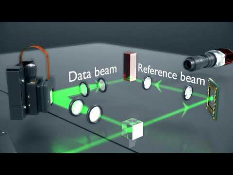 How does holographic storage work?