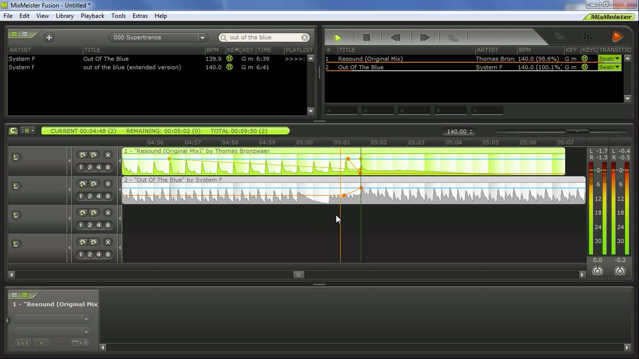 mixmeister fusion 7 download