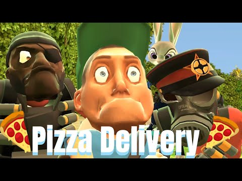 Pizza delivery [Gmod Animation]