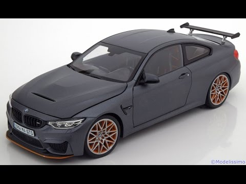 modelissimo minichamps bmw m4 f82 gts 2016 youtube. Black Bedroom Furniture Sets. Home Design Ideas
