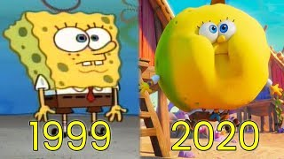 Evolution of SpongeBob SquarePants in Movies & TV (1999-2020)