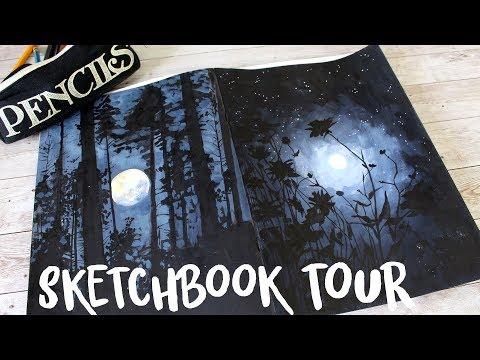 SKETCHBOOK TOUR - Dark and Weird (as always...)