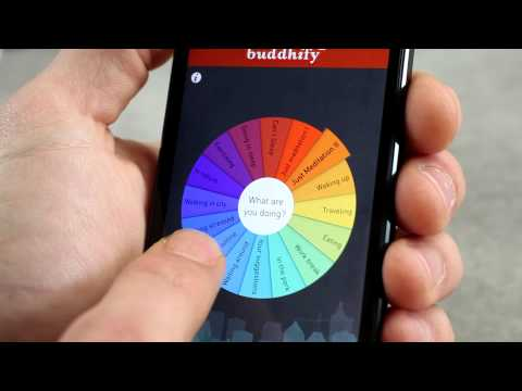 buddhify for iOS and Android - walkthrough